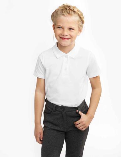 Сорочка-поло дівчача х2
