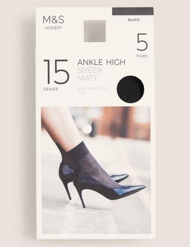 Шкарпетки 15D жіночі х5